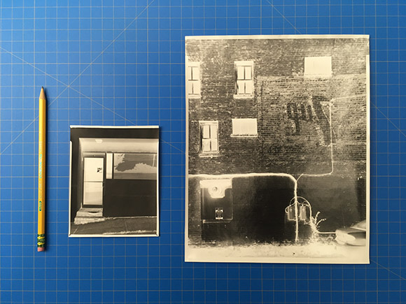 Class Image NEW! 6123. Paper Negatives ( Workshop) ( 14+)
