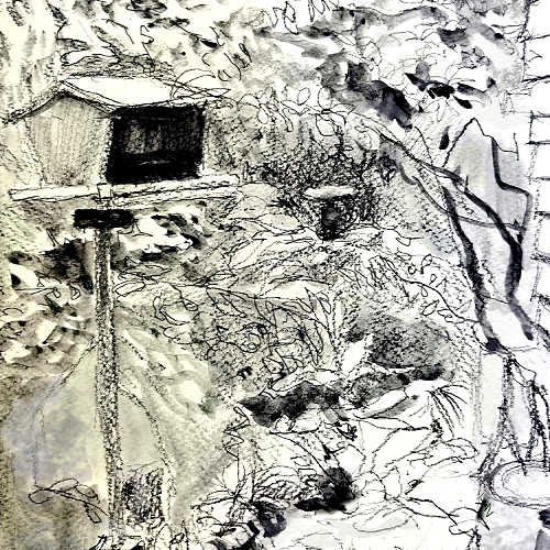 Class Image Explorations in Drawing: Plein Air