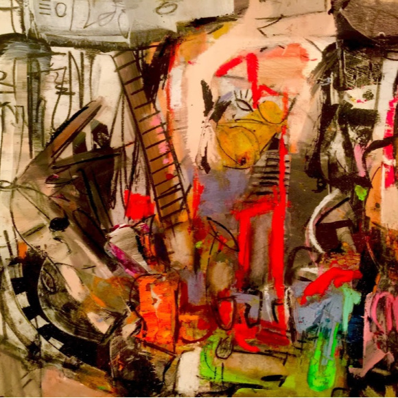 Class Image Abstraction and Music: Contemporary Painting and Drawing