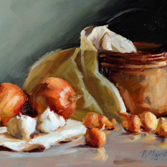 Class Image Classical Oil Painting Workshop: Still Life