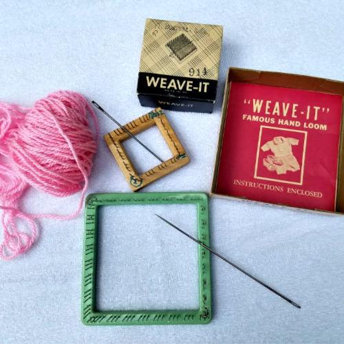 Class Image Taste of Art-Textiles-Pin Loom Sachet
