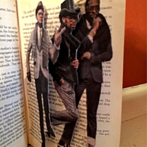 Class Image Altered Book Workshop