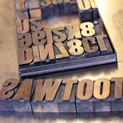 Class Image NEW! 4066. Youth Creative Writing and Letterpress Printing (age 9+)