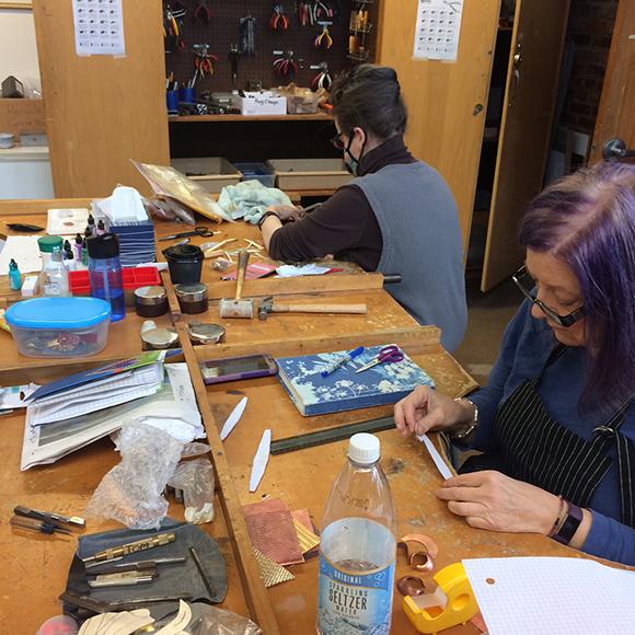Class Image Open Metals Studio - 8-Week Evening Series