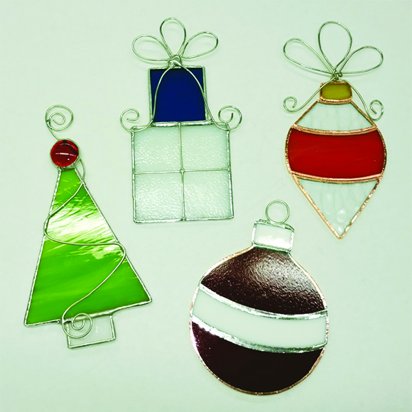 Class Image Stained Glass Ornaments - Workshop