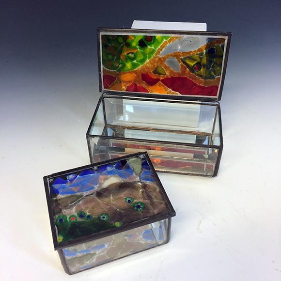 Class Image Glass Jewelry Box - Workshop