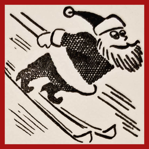 Class Image NEW! 4065. Letterpress Printed Holiday Cards