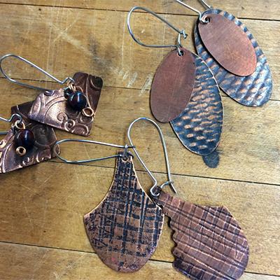 Class Image Taste of Art - Roll Print Earrings