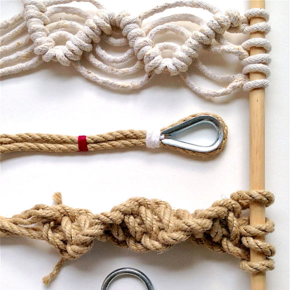 Class Image NEW! 3331. The Tie that Binds: Rope Making, Knots, and Modern Macramé - Workshop