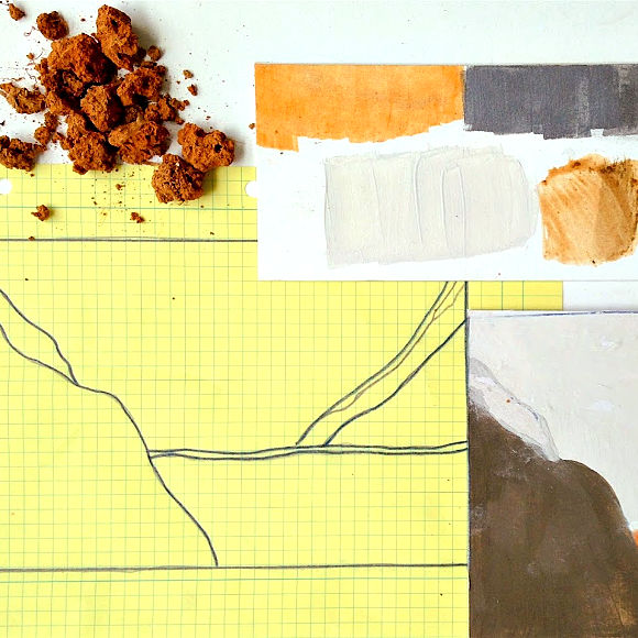 Class Image NEW! 4450. Taste of Art-Earth Pigments and Surface Design