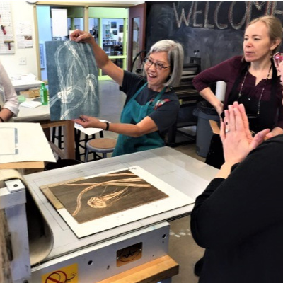 Class Image Sawtooth Print Group Fall Session