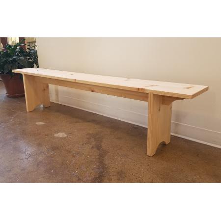 Class Image B: Beginning Woodworking: Hallway Bench