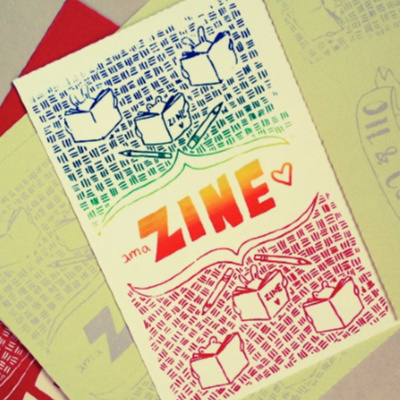 Class Image Drawing- Zines (ages 9-11)