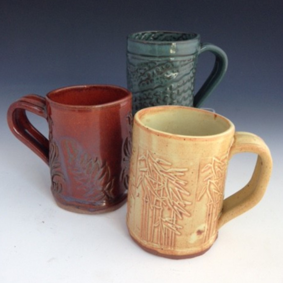 Class Image Adult/Youth Ceramics-Pair of Mugs