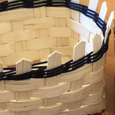 Class Image Wood- Intro to Basket Weaving for Homeschool (ages 9-11)