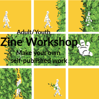 Class Image Adult/Youth Drawing- Zines Workshop