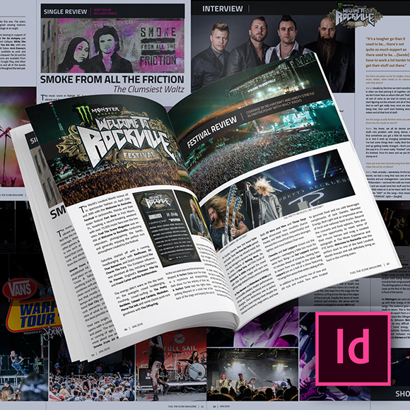 Class Image Make Your Own Magazine:Getting Started with Adobe InDesign
