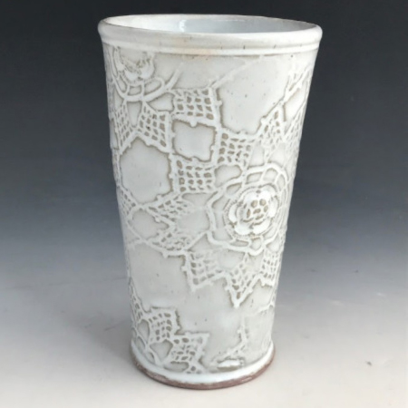 Class Image Taste of Art Ceramics -  Pair of Iced Tea Tumblers