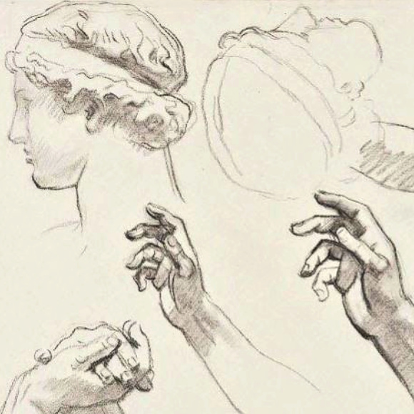 Class Image NEW! 4248. Drawing: Mastering the Head and Hands