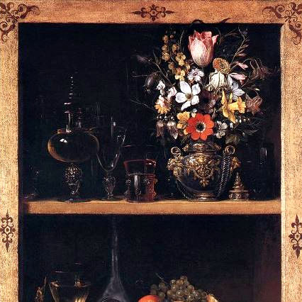 Class Image Intermediate Drawing: Still Life in a Cabinet