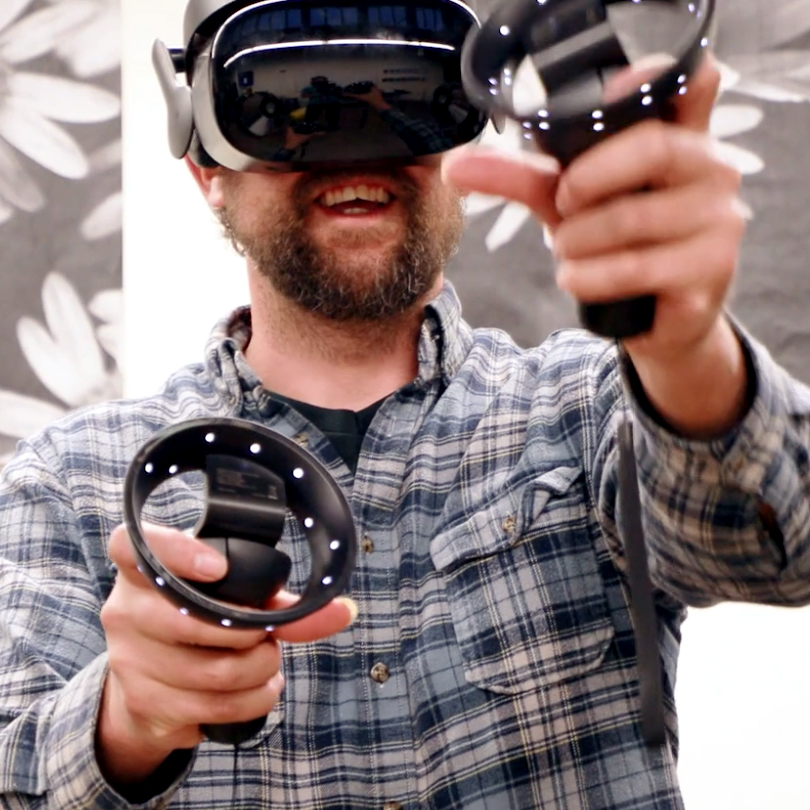 Class Image New! 1061. B.  Introduction to Virtual Reality Painting with Google Tiltbrush (Workshop) (13-Adult)