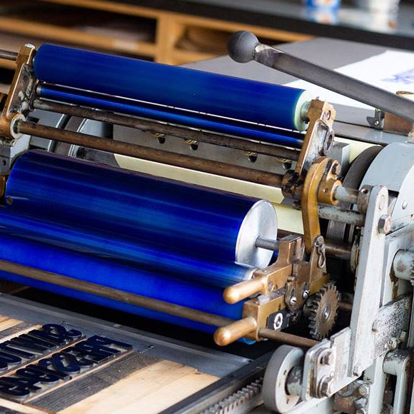 Class Image Introduction to Letterpress Printing