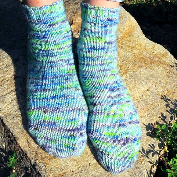Class Image NEW! 3315. Two at a Time Sock Knitting