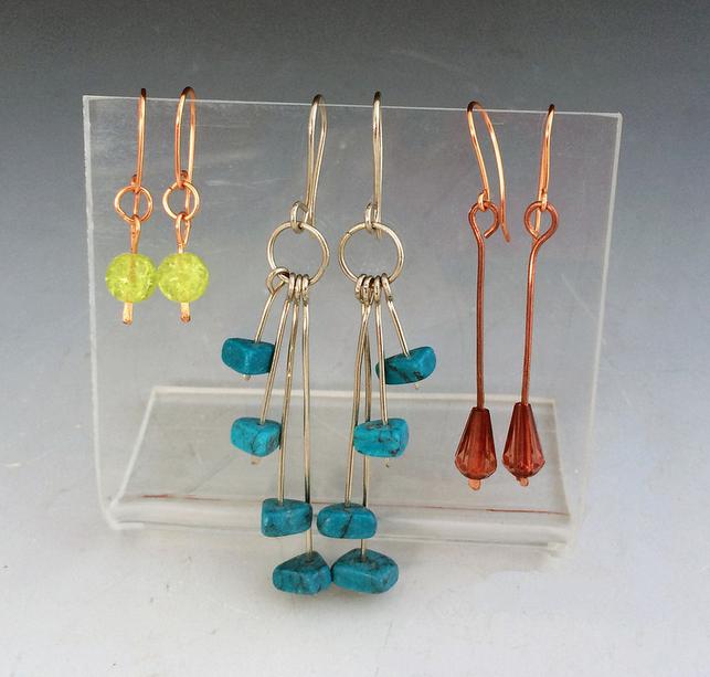 Class Image Taste of Art - Jewelry - Bead & Wire Earrings