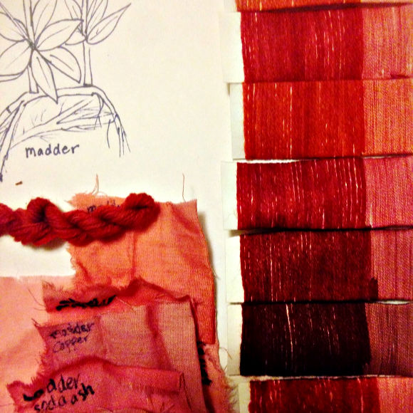 Class Image Embroidery and Natural Dyes Workshop