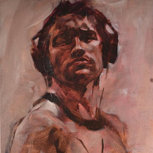 Class Image Teen Portrait Painting, (7/13-7/17) 1PM-4PM