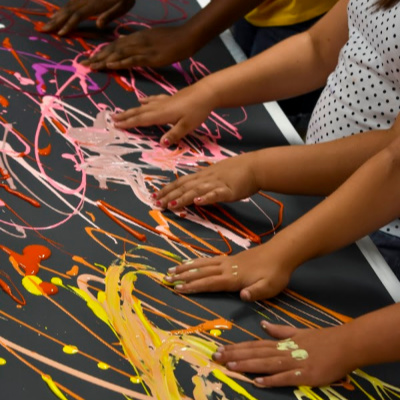 Class Image A. Create with Me Workshop (Parents and toddlers ages 2-5)
