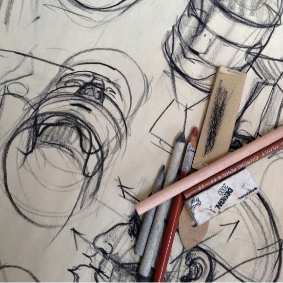 Class Image Teen Introduction to Drawing, (7/13-7/17) 9AM-12PM