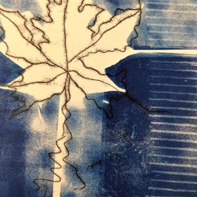 Class Image Taste of Art-Printmaking-Gelatin Prints