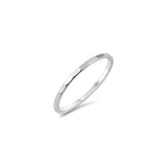 Class Image Taste of Art - Silver Stacking Ring