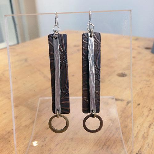Class Image Taste of Art - Jewelry - Mixed Metal Earrings