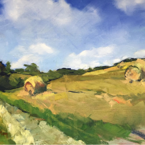 Class Image ONLINE Demo: Landscape Painting in Oils