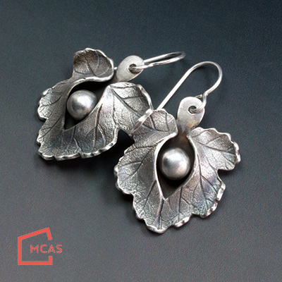 Class Image Silver Split-Leaf Jewelry with Donna Penoyer