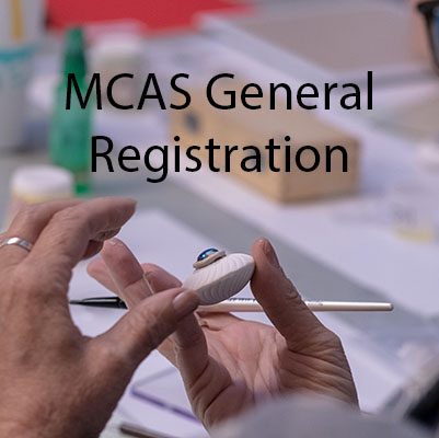 Class Image Metal Clay Artists Symposium (MCAS) General Registration