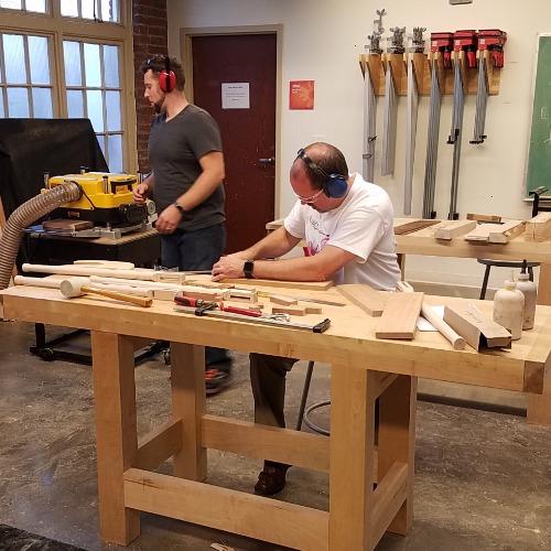 Class Image Open wood studio 3 week pass