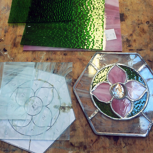 Class Image Stained Glass - Evening Class