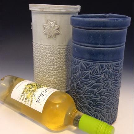 Class Image Taste of Art Ceramics - Wine Cooler