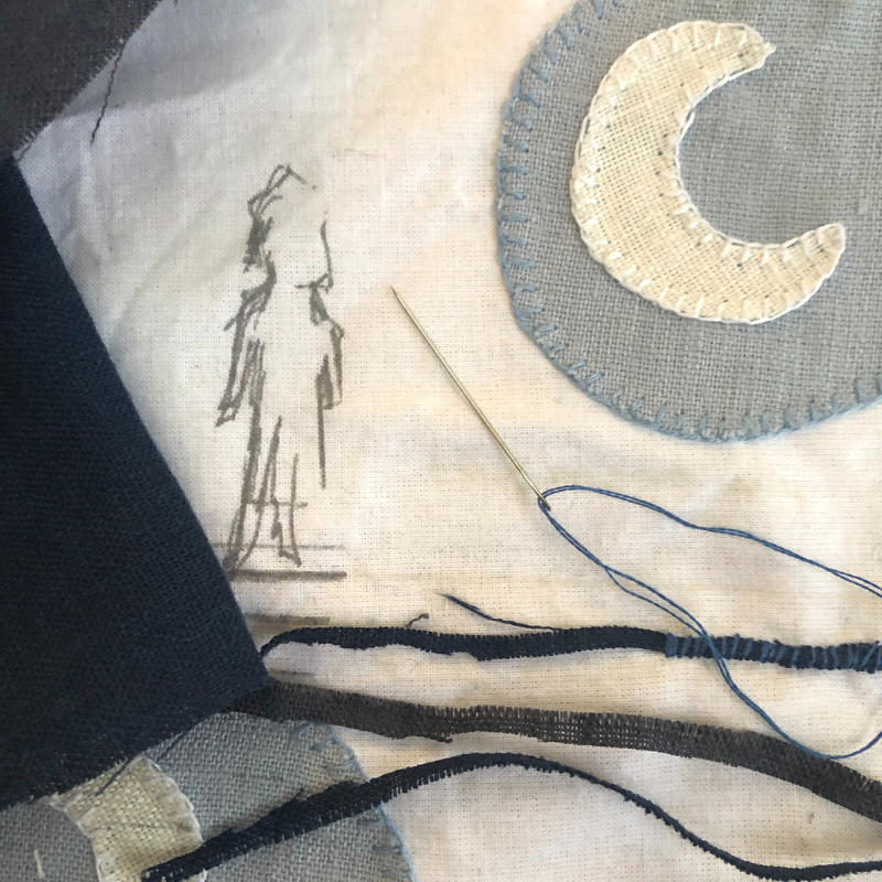 Class Image Sewing Your Story: Narrative Textiles and Story Cloths