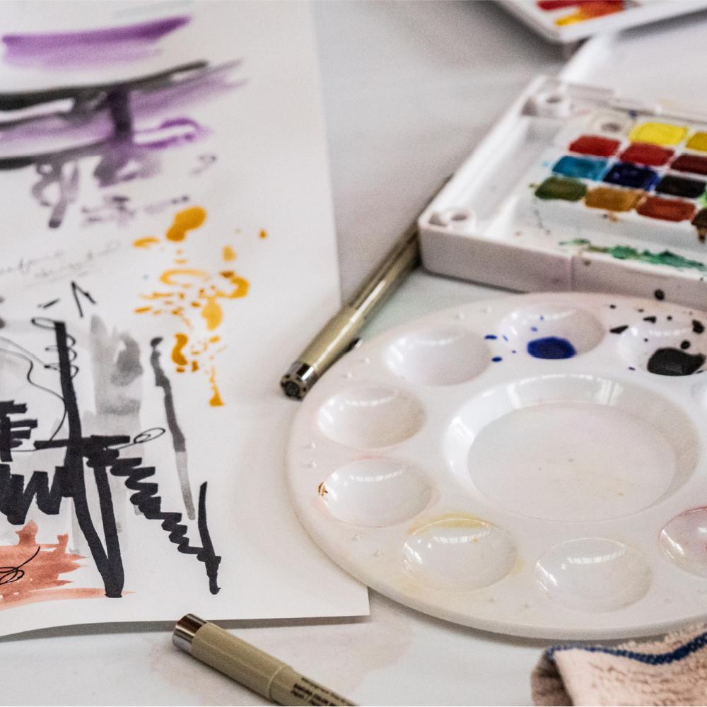 Class Image ONLINE Art + Wellness Community Group