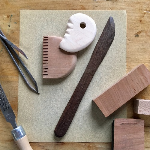 Class Image Woodworking for Ceramics: Custom Clay tools