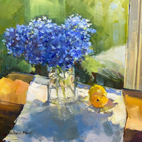Class Image ONLINE: Still Life Demo in Oils Direct from Subject