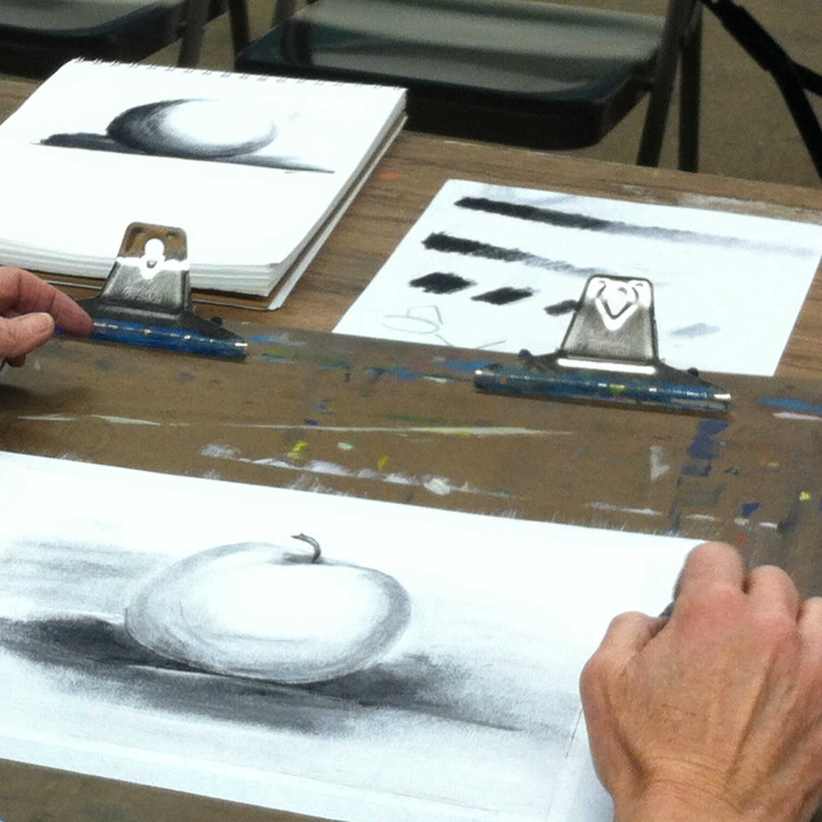 Class Image Art Critique & Guidance with Lea Lackey-Zachmann
