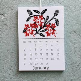 Class Image Taste of Art-Letterpress Wall Calendar