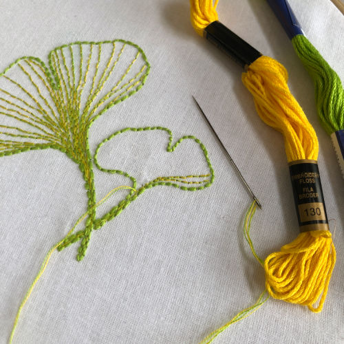 Class Image Embroidery & Botanicals