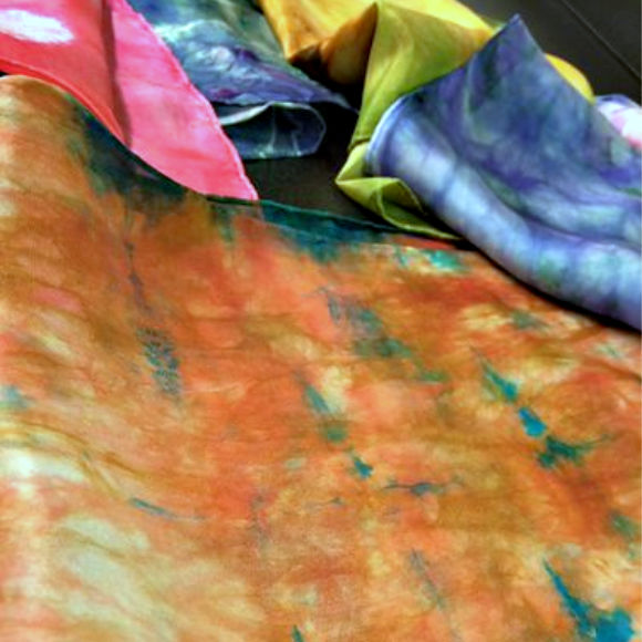 Class Image Taste of Art - Silk Scarf Dyeing