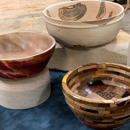 Class Image : Begin to Turn - Introduction to Bowls
